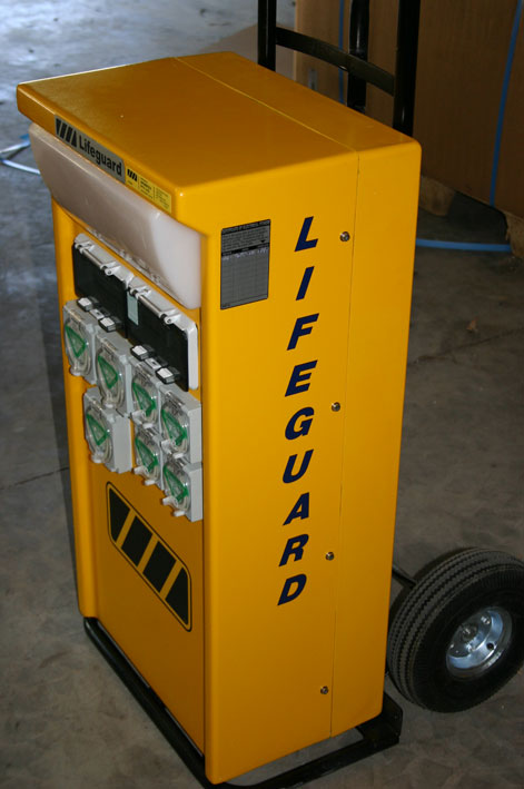 LIFEGUARD 1065 - A CUSTOMISED UNIT FITTED WITH A TRANSFORMER